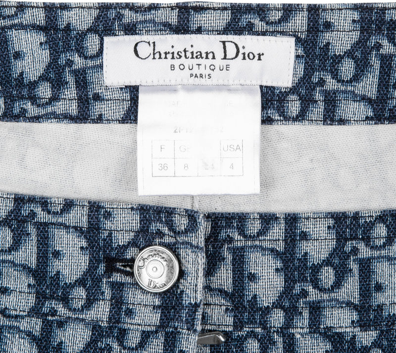 Christian Dior Navy Diorissimo Denim Shorts