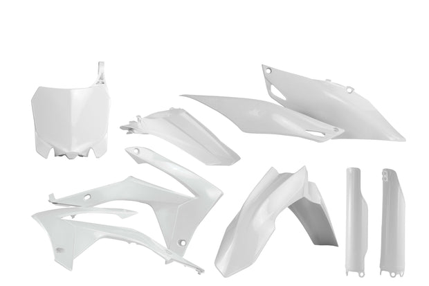 14-17 CRF250R/ 13-16 CRF450R WHITE FULL PLASTIC KIT - ACERBIS