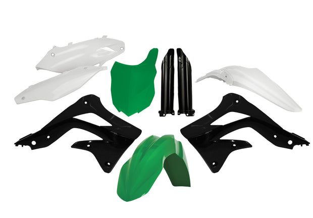 13-15 KAWASAKI KX 450F FACTORY TEAM FULL PLASTIC KIT - ACERBIS