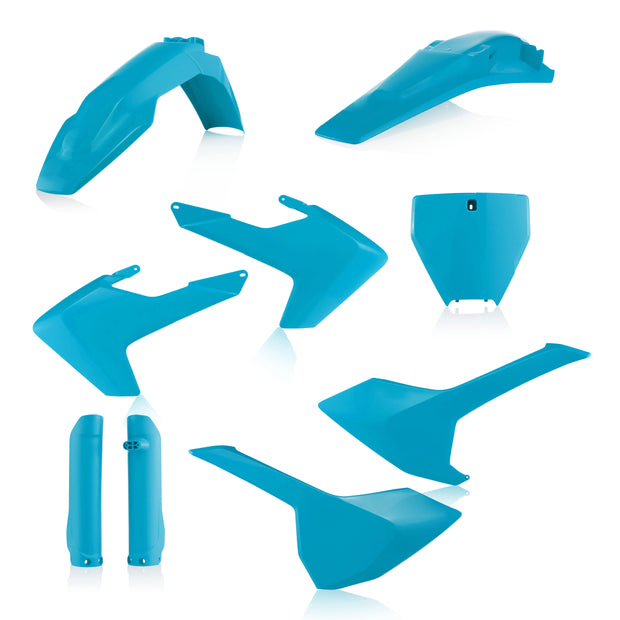 16-18 TC125/ 16-18 FC250-450/ 17-18 TC250, TX300, FX350-450 LIGHT BLUE FULL PLASTIC KIT- ACERBIS