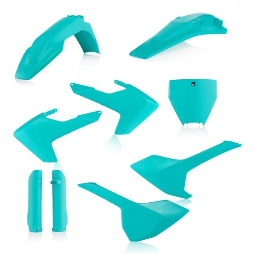 16-18 TC125/ 16-18 FC250-450/ 17-18 TC250, TX300, FX350-450 TEAL FULL PLASTIC KIT- ACERBIS