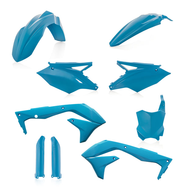 16-18 KAWASAKI KX 450F LIGHT BLUE FULL PLASTIC KIT - ACERBIS