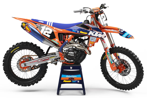 16-18 KTM ORANGE FULL PLASTIC KIT - ACERBIS