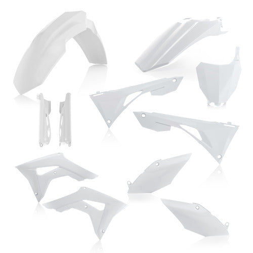 19-20 CRF250R/ 19-20 CRF450R WHITE FULL PLASTIC KIT - ACERBIS