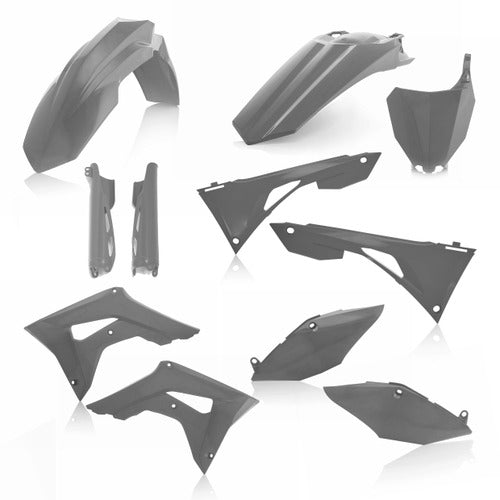 19-20 CRF250R/ 19-20 CRF450R GRAY FULL PLASTIC KIT - ACERBIS