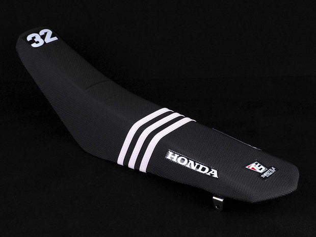 HONDA 3 RIB FACTORY ISSUE SEAT COVER - BLACK
