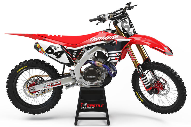 FASTHOUSE HONDA GRAPHIC KIT - FLOW