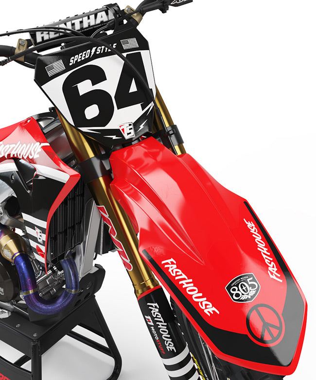 FASTHOUSE HONDA Graphics Kit