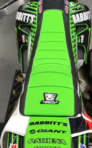 TEAM GREENKAWASAKI FACTORY ISSUE GRIP SEAT COVER