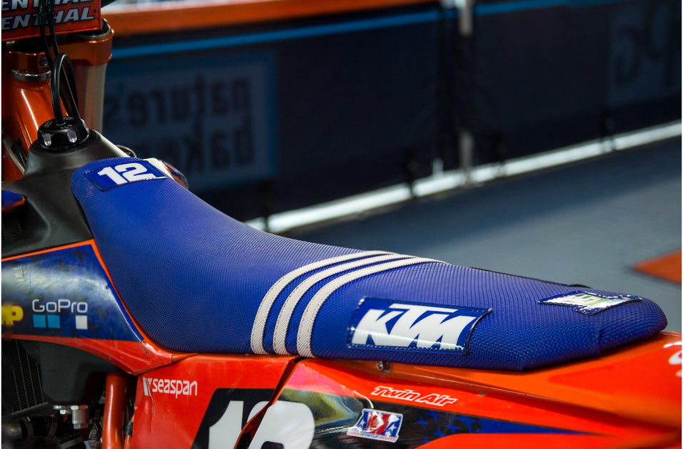 Figura Apelar a ser atractivo Pompeya  TLD KTM FACTORY ISSUE SEAT COVER - BLUE – Throttle Syndicate