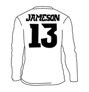 JERSEY NAME AND NUMBER - WHISKEY
