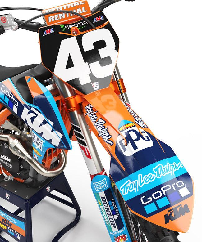 TLD RACE TEAM - WASHOUGAL BLUE