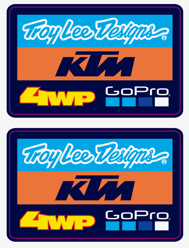 TLD TEAM BADGE DECALS