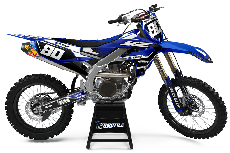 YAMAHA FLUSH GRAPHIC KIT - BLUE