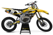 YAMAHA FLUSH GRAPHIC KIT - YELLOW