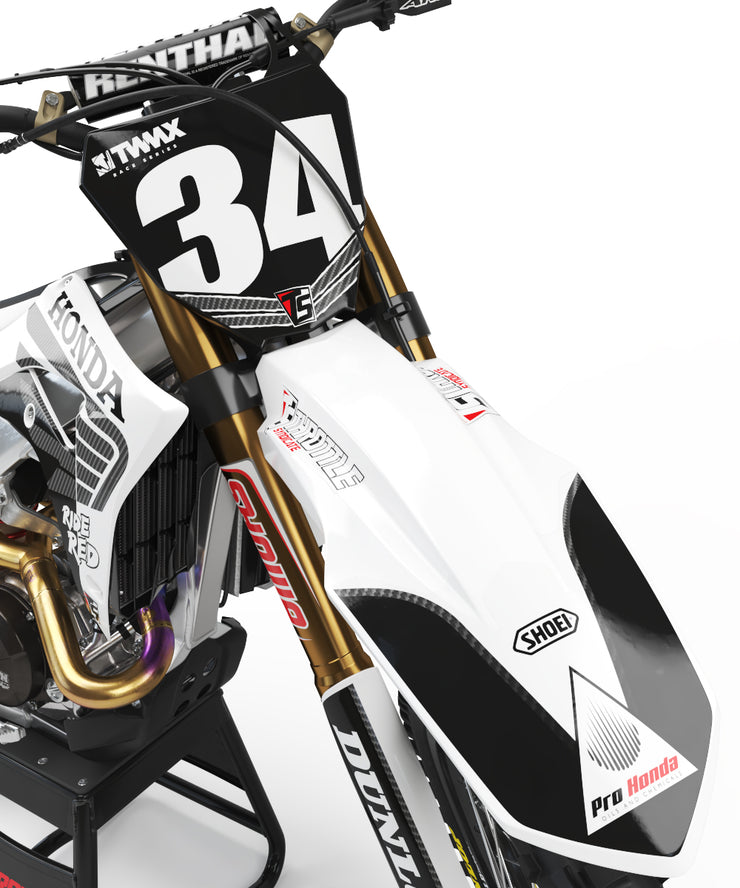 NO WING NO PRAYER - WHITE / CARBON WING