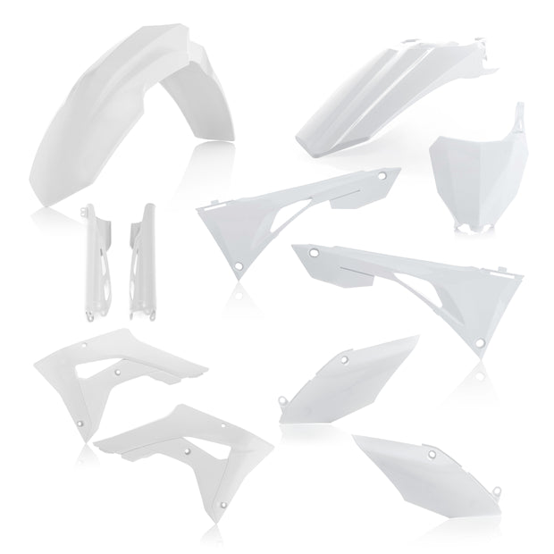 19-20 CRF250 RX/ 17-20 CRF450 RX WHITE FULL PLASTIC KIT - ACERBIS
