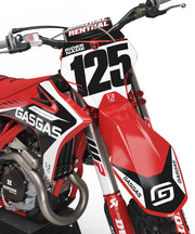 GASGAS GRAPHIC KIT - RED