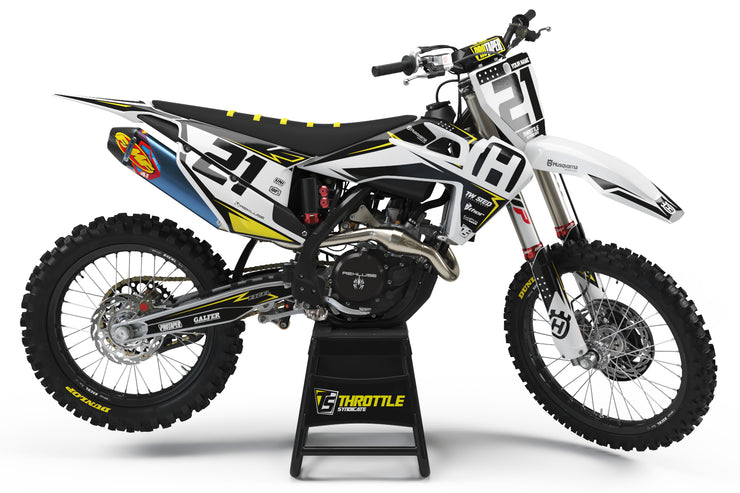 HUSQVARNA FRONTLINE GRAPHIC KIT - TEAM