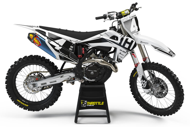 HUSQVARNA FRONTLINE GRAPHIC KIT - WHITE