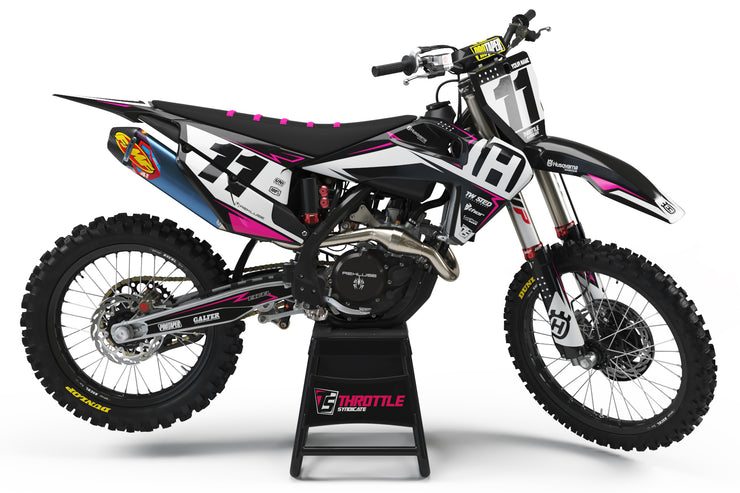 HUSQVARNA FRONTLINE GRAPHIC KIT - PINK