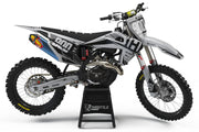 HUSQVARNA FRONTLINE GRAPHIC KIT - GRAY