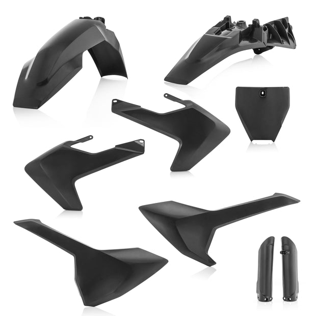 18-20 TC85 FULL PLASTIC KIT BLACK- ACERBIS
