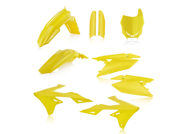 19-21 RMZ 250/ 18-21 RMZ 450 YELLOW FULL PLASTIC KIT - ACERBIS