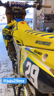 TEAM SUZUKI RM ARMY GRAPHIC KIT - 2020