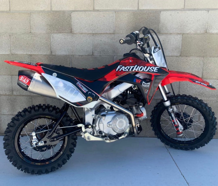 FASTHOUSE HONDA 110 GRAPHIC KIT - CAMO