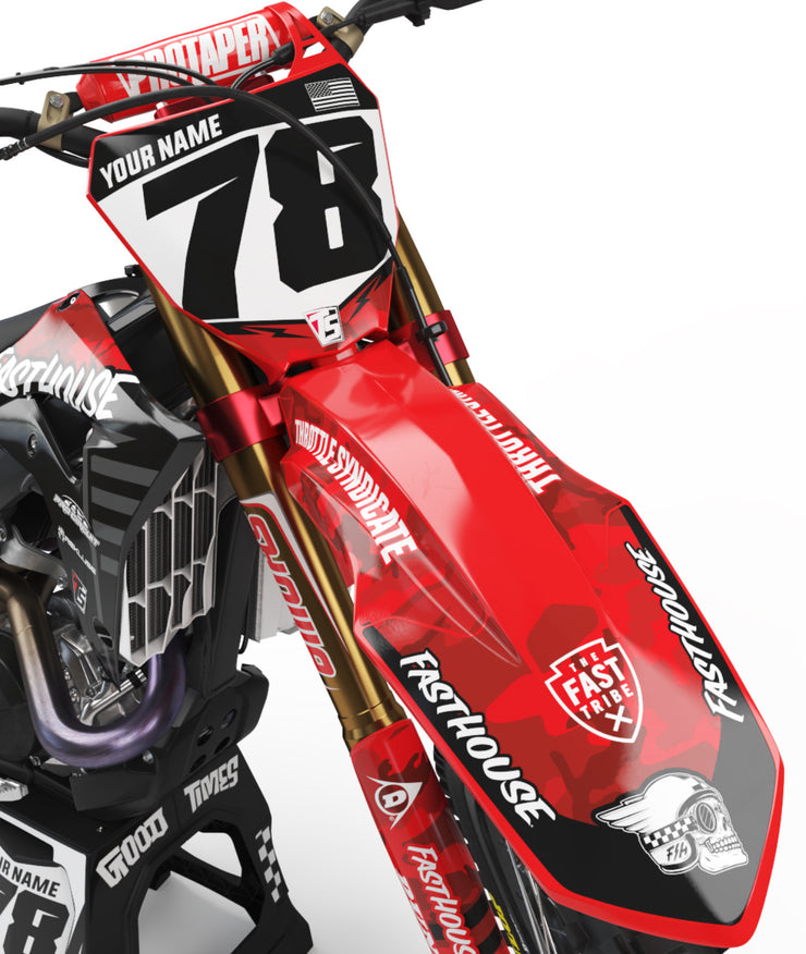 Fasthouse Camo Honda Graphic