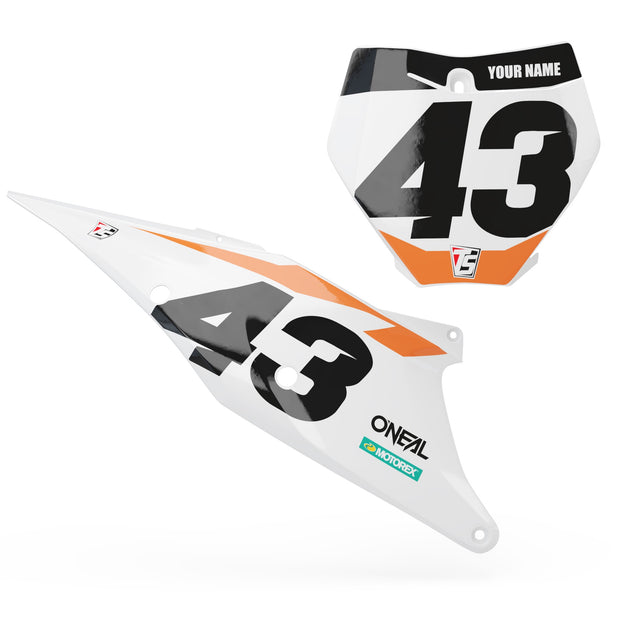Ktm Custom Number Plate Backgrounds Throttle Syndicate