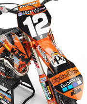 2019 TLD RACE TEAM LIMITED EDITION- BLACK/Orange