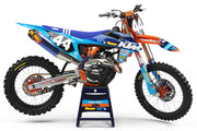 16-18 KTM BLUE / ORANGE FULL PLASTIC KIT - ACERBIS