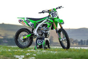 KAWASAKI FRONTLINE GRAPHIC KIT - GREEN