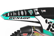 KAWASAKI FRONTLINE GRAPHIC KIT - TEAL