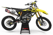 SUZUKI TS GRAPHIC KIT - YELLOW