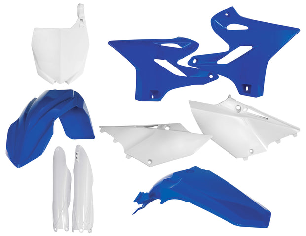 15-21 YZ125/250/ 16-21 YZ250X OEM BLUE / WHITE FULL PLASTIC KIT - ACERBIS