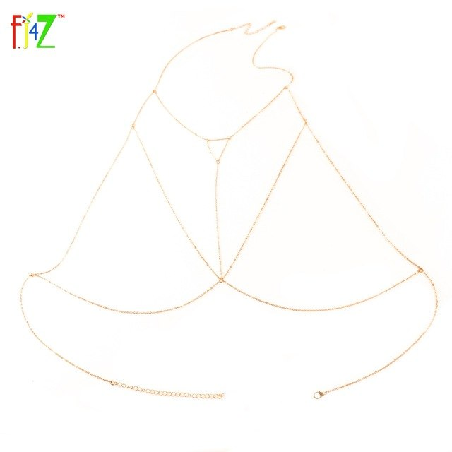 Triangle Open Chain Body Necklace