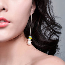 Load image into Gallery viewer, Stone Drop Earrings