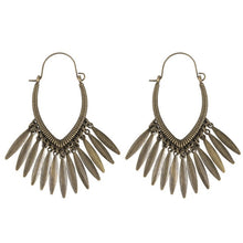 Load image into Gallery viewer, Ethnic Tribe Geometric Drop Earrings