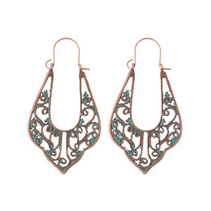 Ethnic Tribe Geometric Drop Earrings