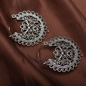Boho Vintage Hoop Earrings