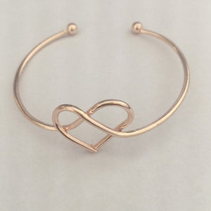 Hollow Heart Bracelet