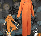 Cosplay Enen no Shouboutai Uniforme de Brigade  Shinra Kusakabe