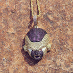 COLLIER PENDENTIF FREEZER DRAGON BALL Z
