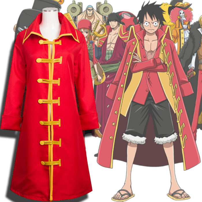 Costume Luffy Strong world - fandemanga