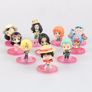 Lot de 10 Figurines One Pièce - fandemanga.com
