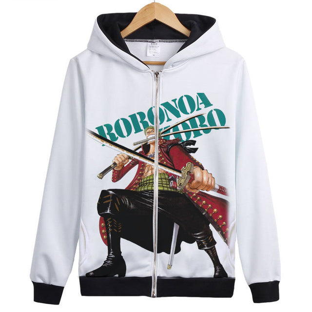 Sweat-Shirt Roronoa Zoro Slash - fandemanga