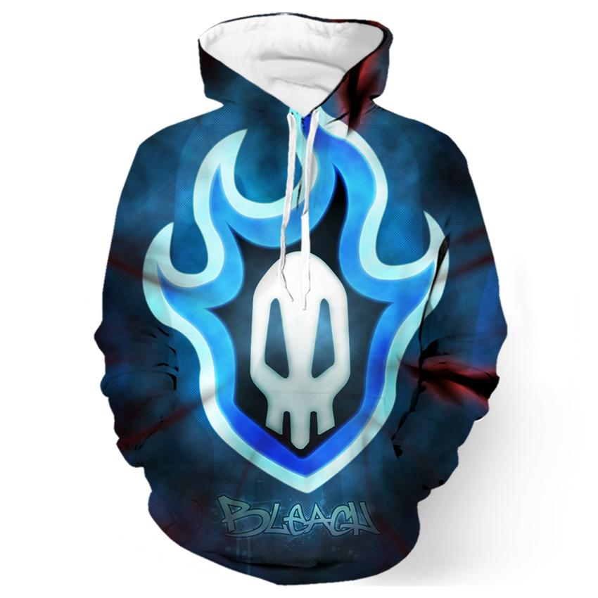 Sweat-Shirt Bleach Skull Symbol - fandemanga